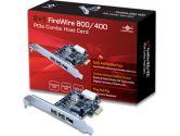 Vantec IO Card UGT-FW210 2+1 Firewire 800/400 PCI Express Combo Host Card Retail (Vantec: UGT-FW210)