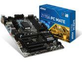 MSI Z170A PC Mate ATX LGA1151 Z170 DDR4 2PCI-E16 3PCI-E1 2PCI SATA3 HDMI DVI VGA USB3.1 Motherboard (MSI: Z170A PC Mate)