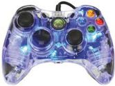 PERFORMANCE DESIGNED PRODUCTS C2G AFTERGLOW GAMEPAD FOR XBOX360 BLUE (Performance Designed Products: 3702BL)