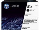 HP 81A Black Original LaserJet Toner Cartridge (HP Consumer: CF281A)