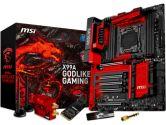 MSI X99A Godlike Gaming E-ATX LGA2011-3 X99 DDR4 SATA3 5PCI-E16 CrossFire SLI USB3.1 Motherboard (MSI: X99A GODLIKE GAMING)