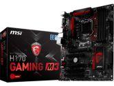 MSI H170 Gaming M3 ATX LGA1151 Z170 DDR4 2PCI-E16 2PCI-E1 SATA3 HDMI DVI USB3.0 Motherboard (MSI: H170 GAMING M3)