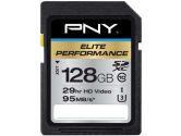 PNY 128GB Elite Performance SDXC Class 10 UHS-3 - 95MB/s SD (PNY Technologies Inc: P-SDX128U395-GE)