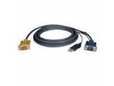 TRIPP LITE 10 ft. USB (2-in-1) KVM cable kit (Tripp Lite: P776-010)
