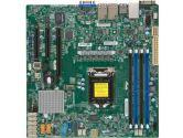 Supermicro X11SSH-F Intel Xeon LGA1151 mATX Motherboard (SuperMicro: MBD-X11SSH-F-O)