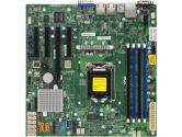 Supermicro X11SSM-F Intel Xeon LGA1151 mATX Motherboard (SuperMicro: MBD-X11SSM-F-O)