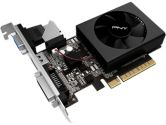 PNY GeForce GT 710 1GB Low Profile PCIe DDR3 DVI-D HDMI VGA Graphic Card (PNY Technologies Inc: VCGGT710XPB)