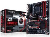 Gigabyte 970 Gaming Sli AMD AM3+/ AM3 DDR3 2xUSB 3.1 Type-A USB 3.0 Sata 6 CrossFire ATX Motherboard (Gigabyte: GA-970-Gaming SLI)