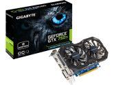 GIGABYTE GeForce GTX750TI Windforce OC 4GB 1137MHZ 5400MHZ GDDR5 PCI-E 3 DVIX2 HDMIX2 ATX Video Card (Gigabyte: GV-N75TWF2OC-4GI)
