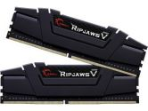 G.SKILL Ripjawsv F4-3400C16D-16GVK 16GB  PC4-27200/DDR4 3400 1/35V CL16 Desktop Memory Black (G.Skill: F4-3400C16D-16GVK)