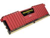 Corsair Vengeance Lpx 16GB 2X8GB DDR4 2400MHZ C14 1.2V Memory Kit Red Heatspreader (Corsair: CMK16GX4M2A2400C14R)