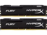Kingston Memory HX426C15FBK2/16 16GB DDR4 2666 Unbuffered HyperX 2X8GB Fury Black Retail (Kingston: HX426C15FBK2/16)