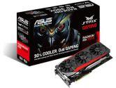 Asus Video Card STRIX-R9390X-DC3OC-8GD5-GAMING R9 390X 8GB DDR5 512Bit DVI-D/HDMI/DisplayPort (ASUS: STRIX-R9390X-DC3OC-8GD5-G)