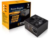 IN-WIN Powerman 750W ATX 12V V2.4 80 Plus Bronze Power Supply 120mm Fan (INWIN: IP-S750HQ3-2)
