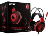 MSI DS501 Gaming Headset 40mm Drivers In Line Audio Controls (MSI: S37-2100920-SV1)