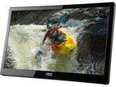 AOC E1659FWUX Pro 16IN USB Portable LED Monitor - 1920x1080 300 CD/M2 500:1 USB3.0 Input (AOC: E1659FWUX)