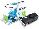 MSI GeForce GT 730 OC 1GB GDDR5 PCI-E Video Card (MSI: N730K-1GD5LP/OC)