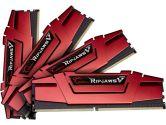 G.SKILL Ripjaws V Series F4-2666C15Q-64GVR DDR4 2666MHZ CL15 1.2V 64GB Memory Kit Red (G.Skill: F4-2666C15Q-64GVR)