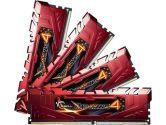 G.SKILL Ripjaws 4 16GB 4X4GB DDR4-2400 CL15 1.2V Memory Kit Red (G.Skill: F4-2400C15Q-16GRR)