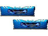 G.SKILL Ripjaws 4 8GB 2X4GB DDR4-3000 MHz 1.35V C15 Memory Kit Blue (G.Skill: F4-3000C15D-8GRBB)