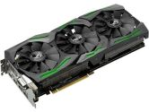 ASUS GeForce GTX 1060 Rog Strix 1506/1708 MHZ 6GB GDDR5 HDMI SLI G-SYNC Vr Ready Video Card (ASUS: STRIX-GTX1060-6G-GAMING)