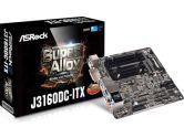 ASRock J3160DC-ITX Intel QUAD-CORE Processor J3160 DC Jack 6XUSB3.0 HDMI/DP/DVI-D M-ITX Motherboard (ASRock: J3160DC-ITX)