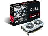 ASUS Radeon RX 460 DUAL-FAN OC Edition 1224/1244 MHz 2GB 7000 MHz GDDR5 HDMI DP Video Card (ASUS: DUAL-RX460-O2G)