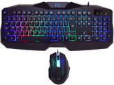 Rii RM400 7 Color LED Backlit Gaming Keyboard & 2400DPI Gaming Mouse Combo (Rii: RM400)