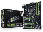 GIGABYTE Z170X G1. Sniper LGA 1151 DDR4 PCIe USB TYPE-C A Satae SATA6 CrossFireX SLI ATX Motherboard (Gigabyte: GA-G1.SNIPER Z170)