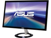 ASUS VX238H Black 23in LED Monitor 1920 X 1080 1ms VGA HDMI Speakers (ASUS: VX238H)