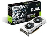 ASUS GeForce GTX 1060 DUAL-FAN 6GB GDDR5 1582/1771 MHz HDMI VR Ready G-SYNC SLI Video Card (ASUS: DUAL-GTX1060-6G)