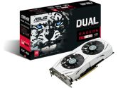 ASUS Radeon RX 480 DUAL-FAN 4GB GDDR5 OC Edition 1300/1320 MHz DP HDMI Video Card (ASUS: DUAL-RX480-O4G)