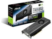 ASUS GeForce GTX 1060 6GB Turbo Edition 1506/1708 MHz HDMI DP G-SYNC VR Ready Video Card (ASUS: TURBO-GTX1060-6G)