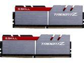 G.SKILL Trident Z 16GB  DDR4-3000 CL15-15-15-35 1.35V 288PIN Memory Kit - Silver / Red (G.Skill: F4-3000C15D-16GTZ)