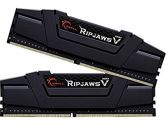 G.SKILL Ripjaws V 16GB  DDR4-3200 CL15-15-15-35 1.35V 288PIN Dual Channel Memory Kit - Black (G.Skill: F4-3200C15D-16GVK)
