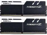G.SKILL Trident Z 16GB  DDR4-3200 CL16-18-18-38 1.35V 288PIN Memory Kit - Black / White (G.Skill: F4-3200C16D-16GTZKW)