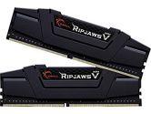 G.SKILL Ripjaws V 16GB  DDR4-3000 CL15-16-16-35 1.35V 288PIN Dual Channel Memory Kit - Black (G.Skill: F4-3000C15D-16GVKB)