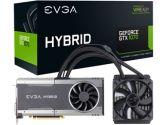 EVGA GeForce GTX 1070 FTW HYBRID GAMING 8GB 1797 MHz RGB AIO Watercooling Precision XOC Video Card (eVGA: 08G-P4-6278-KR)