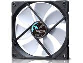 Fractal Design Dynamic X2 Series GP-14 140mm LLS bearing Cooling Fan 1000RPM 68.4CFM 18.9DBA - White (Fractal Design: FD-FAN-DYN-X2-GP14-WT)