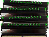Averxir AVD4UZ126661708G-4COG Core Series DDR4 -2666 32GB 8GB X 4 Kit LED Memory - Green (Avexir: AVD4UZ126661708G-4COG)