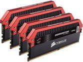Corsair Dominator Platinum ROG Edition 32GB 4x8GB DDR4 3200MHZ C16 1.35V Memory (Corsair: CMD32GX4M4C3200C16-ROG)