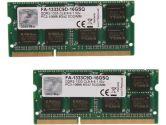 G.SKILL Apple 16GB  DDR3-1333 CL9-9-9-24 1.5V 204PIN SODIMM Memory for iMac MacBook Pro (G.Skill: FA-1333C9D-16GSQ)