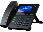DIGIUM IP Phone D60 2-Line SIP with HD Voice 4.3 Inch Color Display Icon Keys (Digium: 1TELD060LF)