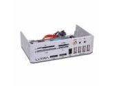 """Ultra MD2 5.25"""" Media Dashboard with USB Firewire and Audio Ports Flash Card Reader (ULTRA: ULT33068)"""