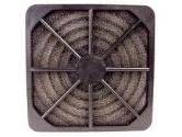 Cables Unlimited - 4-Pack 80mm Fan Filter made of Black Plastic and Foam (Cables Unlimited: FAN-FILTER-804)