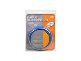 Vantec Cable Sleeving Kit Blue (CSK-80-BL) (: CSK-80-BL)