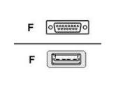 "Belkin DB15 USB Joystick 8"" Adapter (Belkin Components: F3U200-08INCH)"