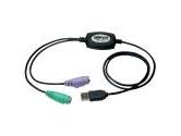 Tripp Lite USB to PS/2 Adapter (Tripp Lite: B015-000)