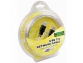 Cables Unlimited 6ft. USB Network Bridge Cable (Cables Unlimited: USB-1450-06)