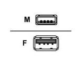 Belkin USB Extension Cable 1.8m (BELKIN: F3U134B06)